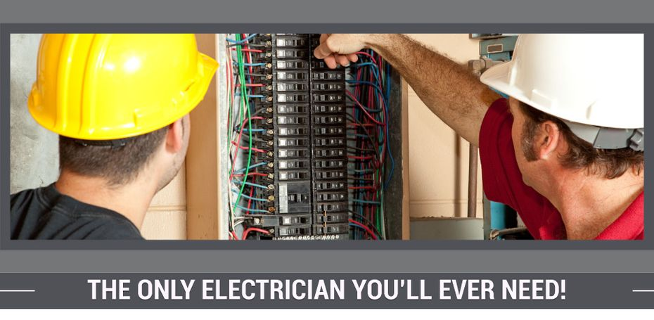 Electrician checking panel box | The Only Electrician You'll Ever Need!